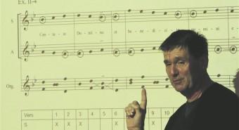 Austria muusikateadlane Leopold Brauneiss pidas Eesti muusika- ja teatriakadeemias  Arvo Pärdi muusika analüüsi eriseminari.