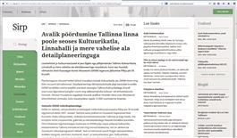 Loomeliitude avalik pöördumine Sirbi veebilehel www.sirp.ee.