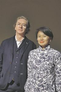 Anna Liu ja Mike Tonkin.