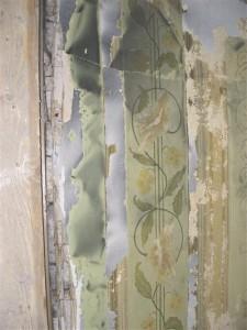 Ajalooliste tapeetide säilitamine on muutunud üha tähtsamaks. Tapeedid Tartus Vallikraavi tn 3 asuvas XIX saj algusest pärinevas muinsuskaitsealuses hoones.