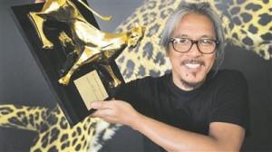 Filipiini režissöör Lav Diaz Locarno festivali peapreemia Kuldse Leopardiga.