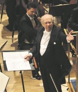 Gennadi Roždestvenski kontsert oli  ERSO hooaja tippsündmusi.