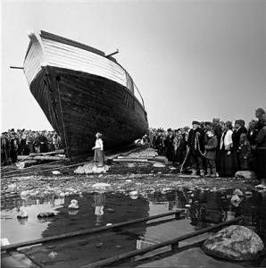 """Kaader Kaljo Kiisa filmist """"Tuuline rand"""" (1971)."""