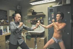 Riggani (Michael Keaton) stseenid Edward Nortoniga (kes iial alanduse ees tagasi ei põrka) on nii intensiivsed, et panevad ootama kujundlikku vere ärapühkimist näolt, kui stseen ükskord läbi saab.