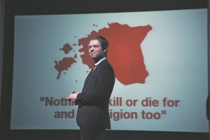 "Eesti presidendi (Andres Mähar) Eesti Rahva Muuseumi avamisel välja öeldav Eestile pühendatud lööklause ""Nothing to kill and die for and no religion too"" on muidugi otsene laen John Lennonilt."