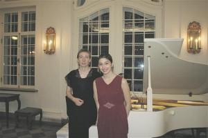 Irina Zahharenkova ja Tami Pohjola – säravad nii konkurssidel kui kontserdilaval –  1. veebruaril Kadrioru lossis.