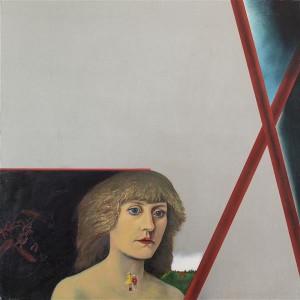 Malle Leis. Õhtuvalgus. (Autoportree). 1972–1984/85, õli, lõuend.