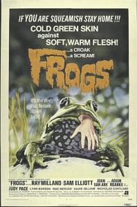 """Hiidkonnade rünnakuna kujutatud Metsalise pealetung Tartule Herbert Salu romaanis """"Surmatrummid ja pajupill"""" meenutab selles fragmendis juba peaaegu postmodernset apokalüptilist allegooriat, kus keskkonnateemalise õudusnarratiivi lähtekohaks on keemiatööstuse mõju ökosüsteemile, looduse ja inimese suhtele (vt nt """"Frogs""""/""""Konnad"""", režGeorge McCowan, 1972)."""