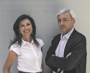 Arhitektid Fuensanta Nieto ja Enrique Sobejano.