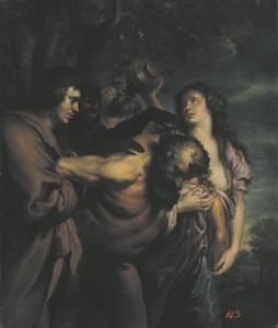 Joobnud sileen. Tundmatu kunstnik Anthonis van Dycki järgi.
