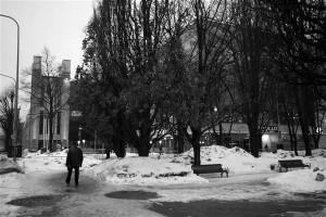 Solarise keskus. Olen aeg-ajalt unistanud, et küll praegu oleks tore, kui Tallinna oleks omal ajal passaaže ehitatud. Kaetud kaubatänavad sobivad meie kliimasse ideaalselt. Olgu, vaese ühiskonna värk, peaksime vist tänulikud olema, et XIX sajandi lõpus polnud raha vanalinna ümber ehitada. Muidu oleks ju nagu Riias, kus suur osa kesklinna hooneid püstitati mõnekümne buumiaasta jooksul ja linnapilt on nagu igal pool mujal Euroopas Helsingist Prahani. Solarist kasutan ma nagu passaaži: kui taevast sajab alla mingit lumetaolist ollust, mõjub igasugune kuiv keskkond kosutavalt.