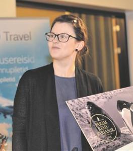 """4. märtsil sai Heilika Pikkov raamatu """"Minu Jeruusalemm"""" eest aasta reisikirjaniku tiitli."""