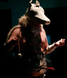 "Jaan Klõsheiko foto Andrus Joonasest performants ""Erwartung"" 2007."