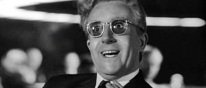 """Stanley Kubricku  film """"Dr. Strangelove ehk kuidas ma lõpetasin muretsemise ja õppisin armastama pommi""""."""