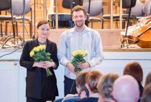 Helena Tulve ja Märt-Matis Lill. Foto Peeter Langovits