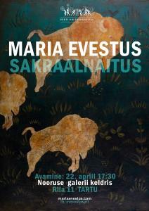 Maria Evestus_plakat