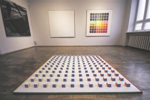 """Veiko Klemmer on viimastel aastatel esinenud õige sagedasti maalidega, kas siis isiku- või grupinäitustel, saanud stipendiume ja pälvinud tähelepanu. Vaade tema Tartu Kunstimaja väljapanekule """"Avamaa""""."""