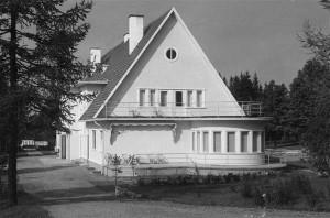 Oru lossi komandandi maja, 1936.