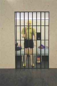 """Gregor Taul kureeris Art Allmäed ja kirjutas tema installatsioonist """"Nägin täna öösel unes…"""". Teos oli esmakordselt väljas Hobusepea galeriis 2012. aastal kunstniku isikunäitusel. Kuigi lapsed ei tea kunagist poplauljat Joel Steinfeldti, tema hitti """"Tiigrikutsu"""" ja kriminaalseid eluseiku, saab teoses käsitletud hirmudest ja painetest rääkida neilegi arusaadavalt."""