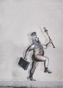 Kui häktivist joonistab mõne asutuse digiseinale stencil'i, nagu tegi Edward von Lõngus, siis kas see tuleb kohe küberründeks kuulutada?