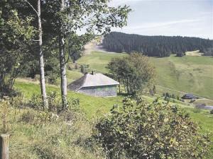 Heideggeri mägimaja Todtnaubergis.