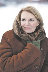 """Soome kirjanik Heidi Köngäs on üks festivali """"HeadRead"""" külalisi. Kirjanik vestleb ajaloolase Toomas Hiioga homme, 30. mail kell 15 Kirjanike Maja musta laega saalis.Jouni Harala,"""