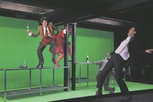 """Erateatrite elujõudu näitab, et 2014. aasta parimaks lavastuseks kuulutati Theatrumi lavastus """"Joobnud""""."""