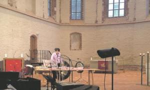 """Tanja Kozlova-Johannese """"Jää kurvid"""" löökpillidele (Vambola Krigul), fonogrammile ja live-elektroonikale oli suurepärane näide sellest, kuidas muusika peidab end mittemuusikaliste helide vahel."""