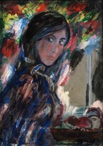 Evald Okas. Isabella. 1974, õli, lõuend
