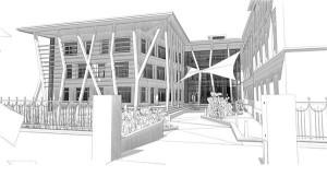 Rakvere kesklinna rajatav Targa Maja kompetentsikeskuse hoone  on esimene liginullenergia kasutusega avalik hoone Eestis.