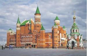 Kes oskaks seda ehitist nähes pakkuda, et Venemaa perifeerseks ja vaeseks osaks peetavas väikeses vabariigis ehitatakse lastele selline nukuteater (valminud 2014).