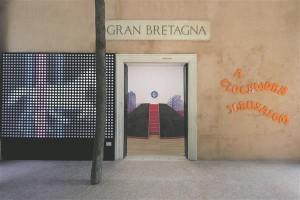 """Hollandi bürooga Crimson koostöös valminud Briti paviljon """"Kellavärgiga Jeruusalemm"""" 2014. aasta Veneetsia arhitektuuribiennaalil."""