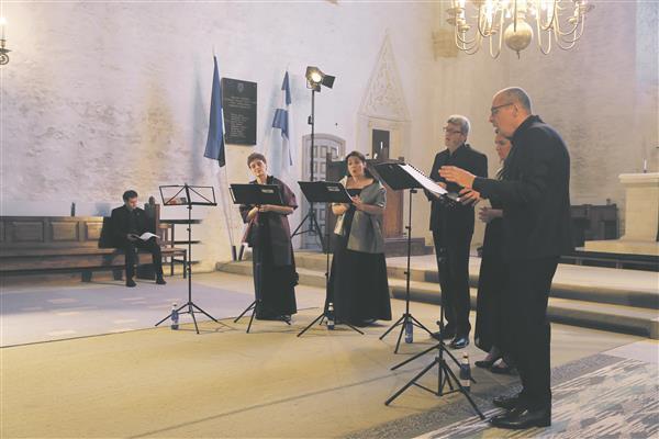 Haapsalu vanamuusikafestivali peaesineja oli maailma parimaks madrigaliansambliks tituleeritud La Compagnia del Madrigale.
