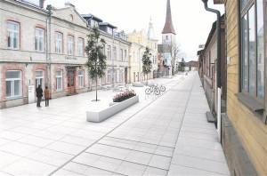 Arhitektuurimuuseum Rakvere Pikal tänaval. Karisma Arhitektid ja Amhold