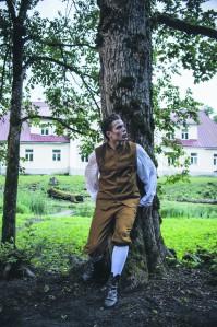 Sander Rebane teeb Wertheri rolli ilma välise kulla ja karrata.