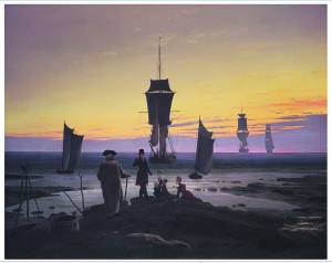 """Pommerist pärit kunstniku Caspar David Friedrichi maal """"Elu faasid"""". 1835."""