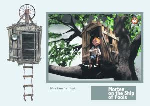 """Nukufilmi uusim täispikk animatsioon """"Morten lollide laeval"""" on valminud Eesti, Iirimaa ja Belgia koostöös. Film peaks valmima  järgmise aasta lõpus."""