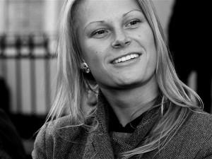 TABi Läti ekspositsiooni kuraator  Gunita Kulikovska.