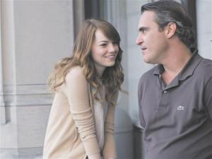 Emma Stone ja Joaquin Phoenix stiilipuhtas, ent teisejärgulises Woody Alleni filmis.