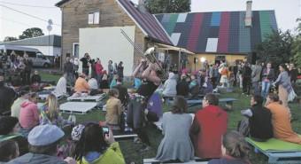 Värvilise katusega ambulARTooriumis toimub üritusi juba igas kuus.