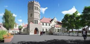 KOKO Arhitektid OÜ nägemus Maarjamäe lossist aastal 2018.