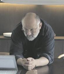 """Vladimir Golovnitski """"Teesklejate"""" võtteplatsil."""