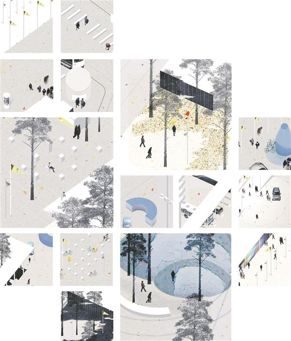 "I preemia – ""Enhanced Urban Movement"", Clement Lobbens, Frederique Barchelard."