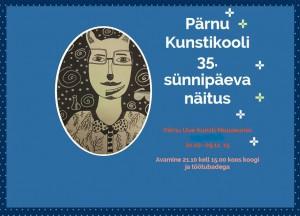 Pärnu Kunstikooli näitus 2015