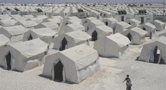 Türgi suurim, 25000-le inimesele mõeldud 7000 telgiga Suruçi põgenikelaager.