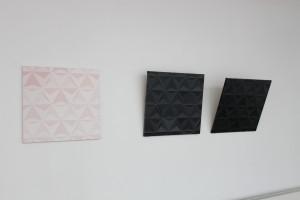 Sirja-Liisa Eelma on kasutanud esmapilgul pea monokroomsena mõjuvates kompositsioonides 14–25 värvitooni, töötades vahetult ühe maali kallal 33–45 tundi. Sirja-Liisa Eelma