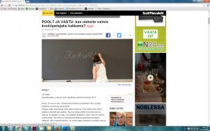 """Mida näeme pildil? Ei midagi erilist, sest pilt on harjumuspärane: õpetajate päeva puhul on portreteeritud noort edumeelset meest, """"lihtsalt naisõpetajat"""" seljaga ja eeskujulikku kooli, kus on tehtud hea remont.  Äsjase õpetajate päeva puhul ilmunud artiklite juurde valitud fotod esitasid valdkonda sama mustri järgi kui uurimuses. Ekraanitõnnised (EPL, 2. X; EPL, 2. X; PM, 3. X)"""