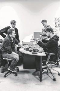 AudioKinetica meeskonnatöö on sujunud, kuna tiimiliikmed inspireerivad üksteist.