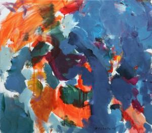 "Vano Allsalu ""Järelpõletus"" (2015) akrüül, lõuend"