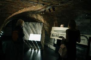 Näituse ülesehitus ja kontseptsioon on väga tugevalt keskendatud vormile.